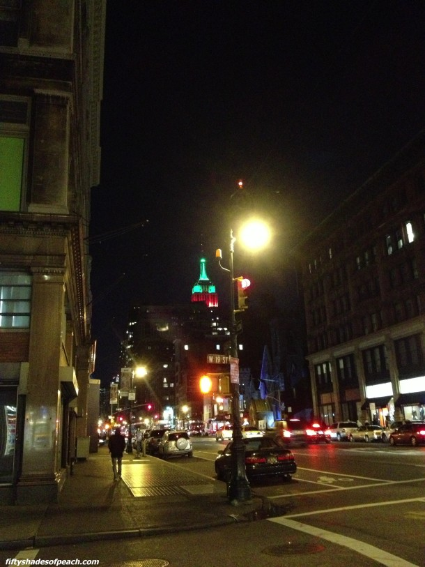 first sighting of the Empire State Building